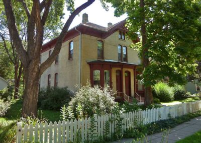 One of six victorian buildings on Nicollet Island