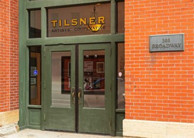 Tilsner Building, front entrance