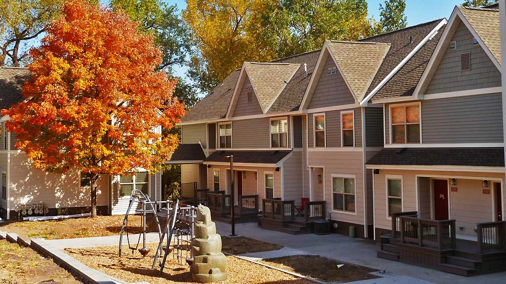 East Side Commons townhomes